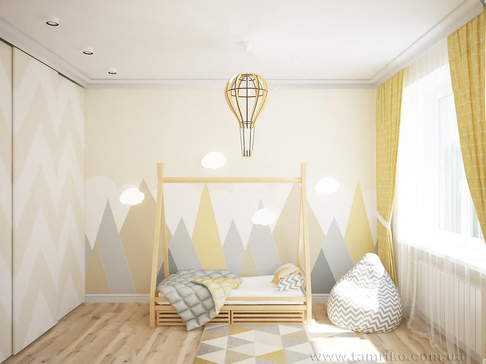 детская комната дизайн фото