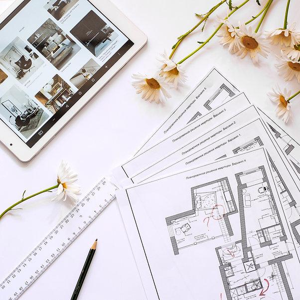 Разработка дизайна интерьеров квартир домов офисов Харьков