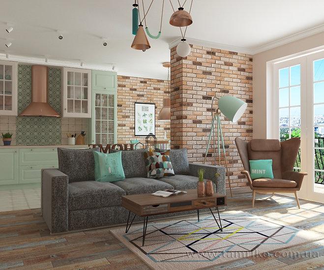 Современный скандинавский дизайн интерьера квартир Харьков дизайн гостиной