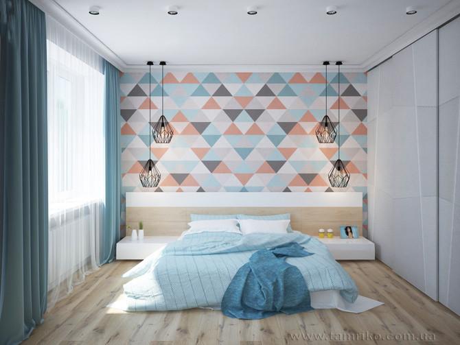 Отличная идея для спальни!