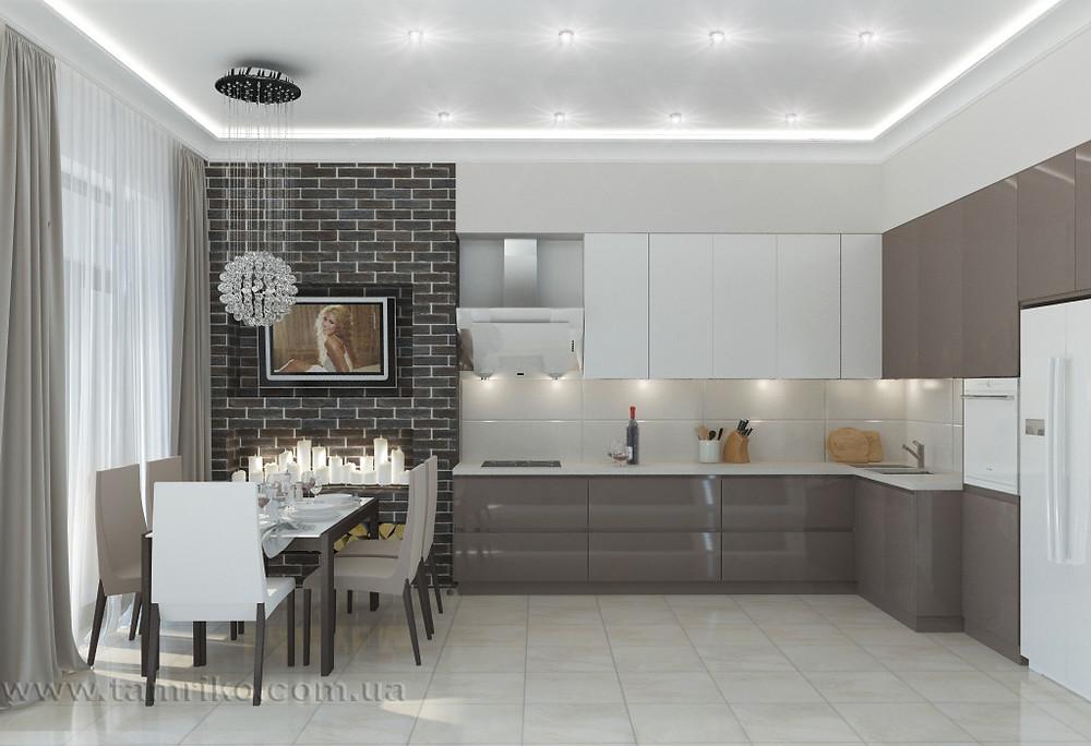 Дизайн интерьера кухни Харьков