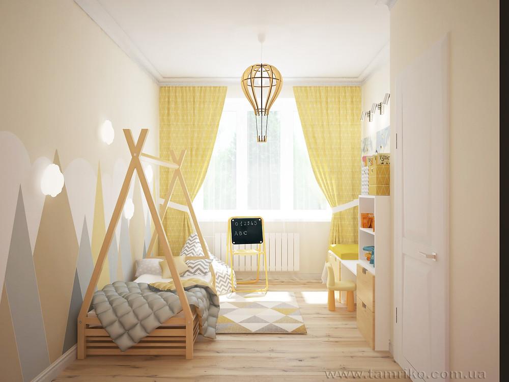 дизайн детских комнат фото