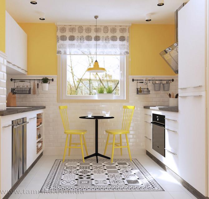Дизайн маленькой кухни. 10 советов от дизайнера интерьера.