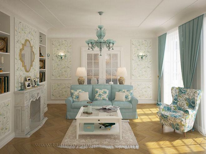 Классический дизайн интерьеров домов в Харькове дизайн в стиле прованс