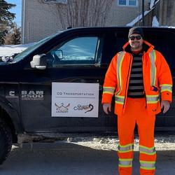 Co-Owner of CQL Transportation David She