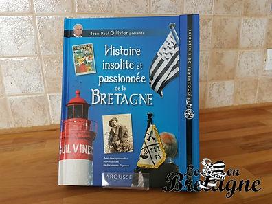 Idée lecture : Histoire insolite et passionnée de la Bretagne