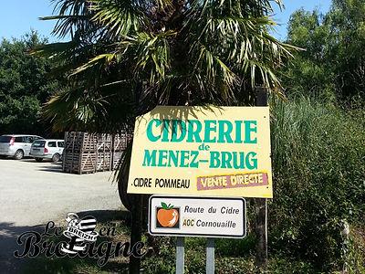 Douceurs du terroir : la cidrerie de Menez-Brug