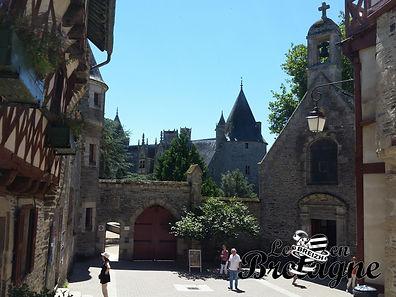 A la découverte du château de Josselin