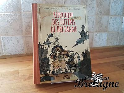 Idée lecture : Répertoire historique des lutins de Bretagne