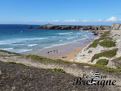 Balade sur la côte sauvage en Quiberon