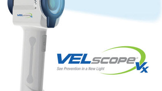VELscope® Vx + Charging Cradle + Patient Glasses + Guides - Outright Buy