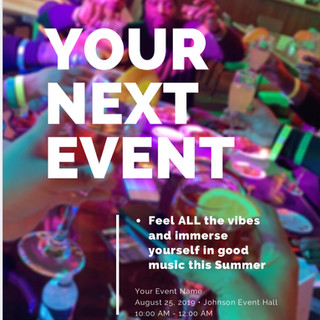 ** Your Next Event Flyer **