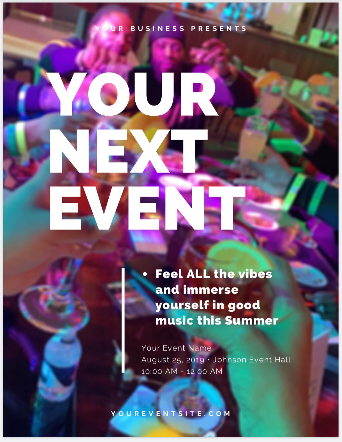 YOUR NEXT EVENT