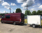 splitter van rental europe