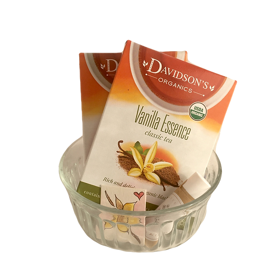 Raspberry Vanilla - Organic Tea + Lip Balm + Mini Watercolor Card