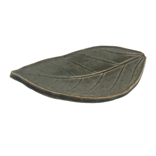 Deep Spring Green - Pressed Leaf Tray