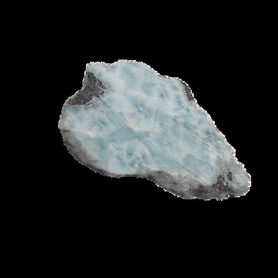 Tranquil Aquatic Larimar - Rare Gemstone
