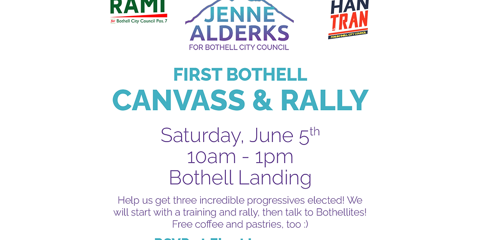 First Canvass & Rally in Bothell