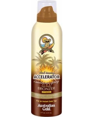 Australian Gold Accel Continuous Spray w/ Bronzer