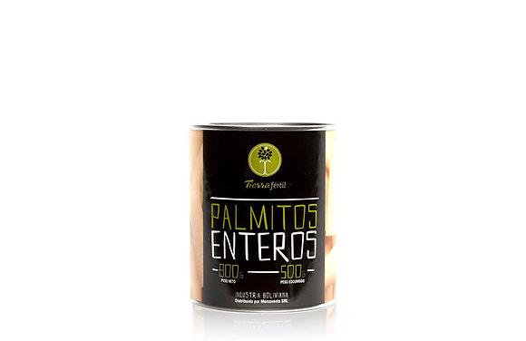 PALMITOS ENTEROS 800 GR
