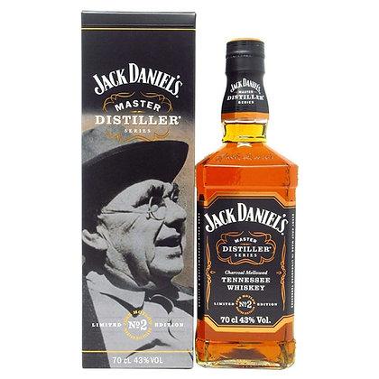 WHISKY JACK DANIELS Nº2 MASTER DISTILLER TENNESSEE 750ML