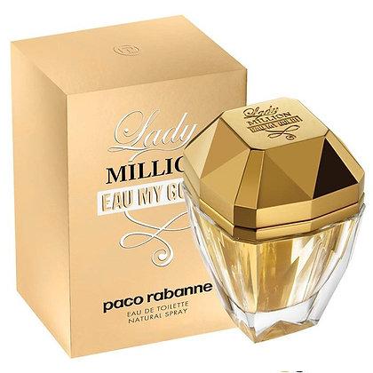 Lady Million Eau My Gold de PACO RABANNE - EDT