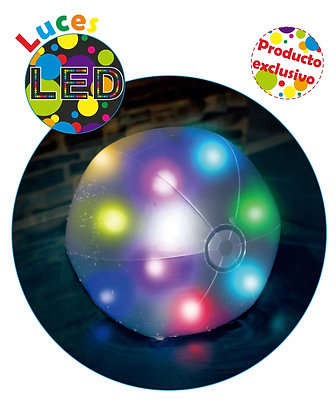 BOLA PARA PISCINA COM DE  LUZ LED