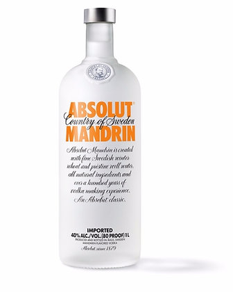 Absolut Vodka Mandrin 1lt