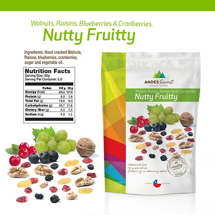 NUTTY FRUITTY 150 GR