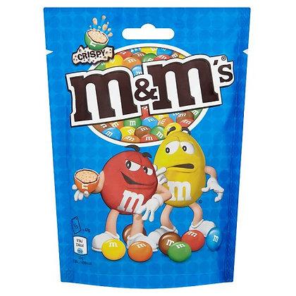 M&M CRISPY POUCH 335 GR
