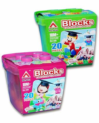 BLOCKS 20 PCS