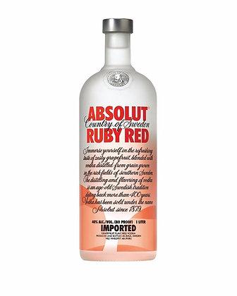 Absolut Vodka Ruby Red 1lt