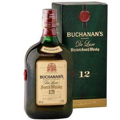 Buchanan's 12 x 1lt Con Estuche