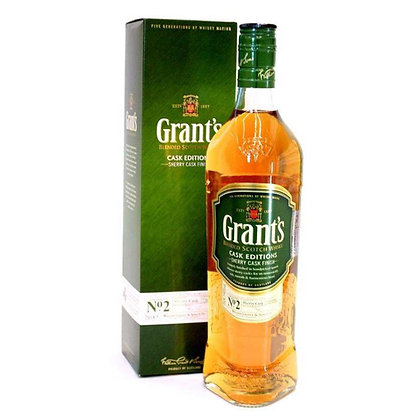 GRANT'S SHERRY CASK 750ML