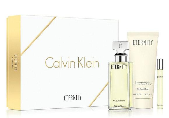 CALVIN KLEIN ETERNITY WOMAN EDP 100 ML+ROLLERBALL EDP 10 ML+BODY LOTION 200 ML