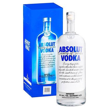 Absolut Vodka 4.5lt