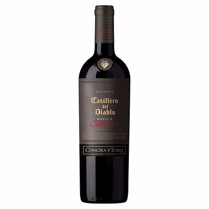 CyT Casillero Devil s Collection Red 750ml
