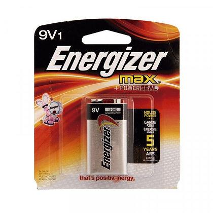 BATERIA 9V ENERGIZER MAX + POWERSEAL