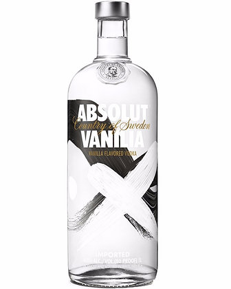 Absolut Vodka Vanilia 1lt