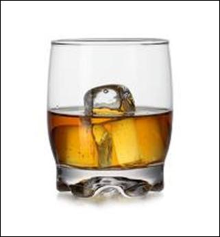 Set 6 copos de Whisky 275cc Adora Artcraft