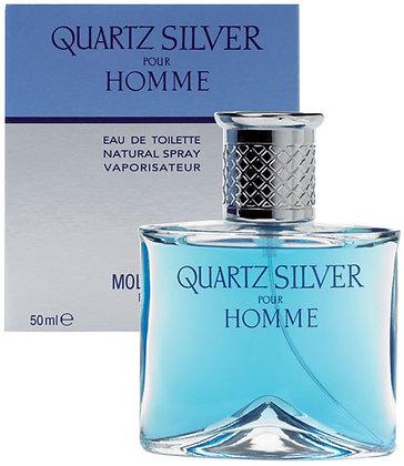 QUARTZ SILVER POUR HOMME DE MOLYNEUX - EDT