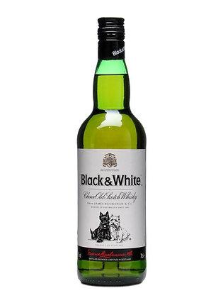 WHISKY BLACK &WHITE