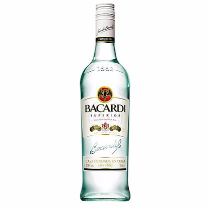 Ron Bacardi Carta Blanca 750ml