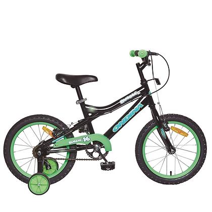 Bicicleta Ondina 16'' Bubble 2017 Preta