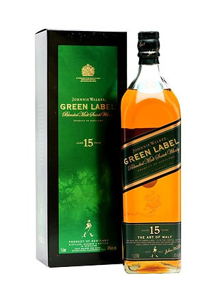 Jhonnie Walker Green 15Y 6 X 750ml