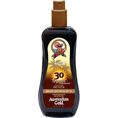 Australian Gold Spray Gel w/ Bronzer SPF 30