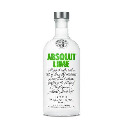 Vodka Absolut Lime | Lançamento