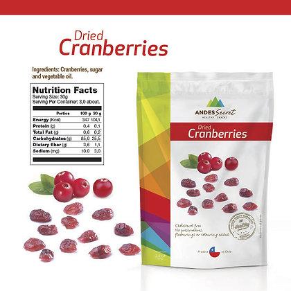 DRIED CRANBERRIES 80 GR