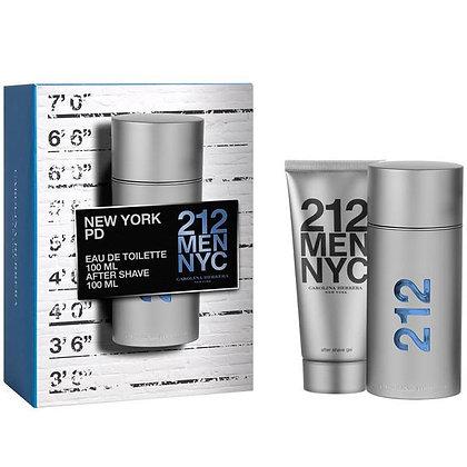212 MEN NYC EDT 100ML + AFTER SHAVE GEL 100 ML