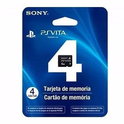 CARTÂO DE MEMÓRIA 4GB PSVITA